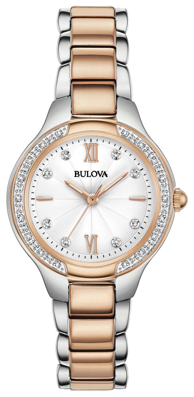 Bulova Ladies Diamond Set Bracelet Watch