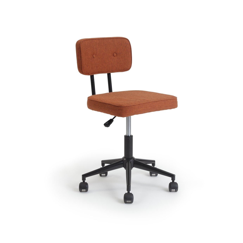 Habitat Industrial Office Chair - Orange