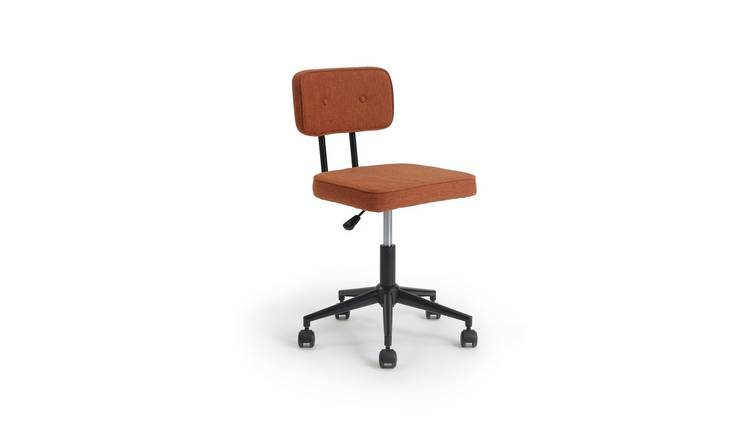 Habitat Industrial Office Chair - Orange