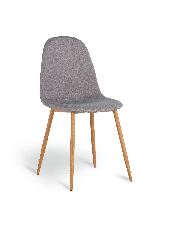 Argos Home Beni Fabric Office Chair - Grey