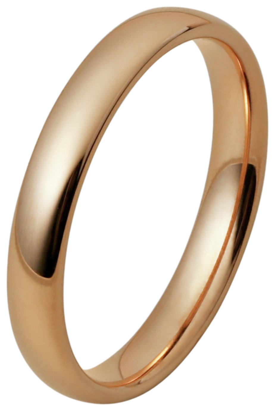 Inara Rose Gold Plated Ceramic Stacking Ring