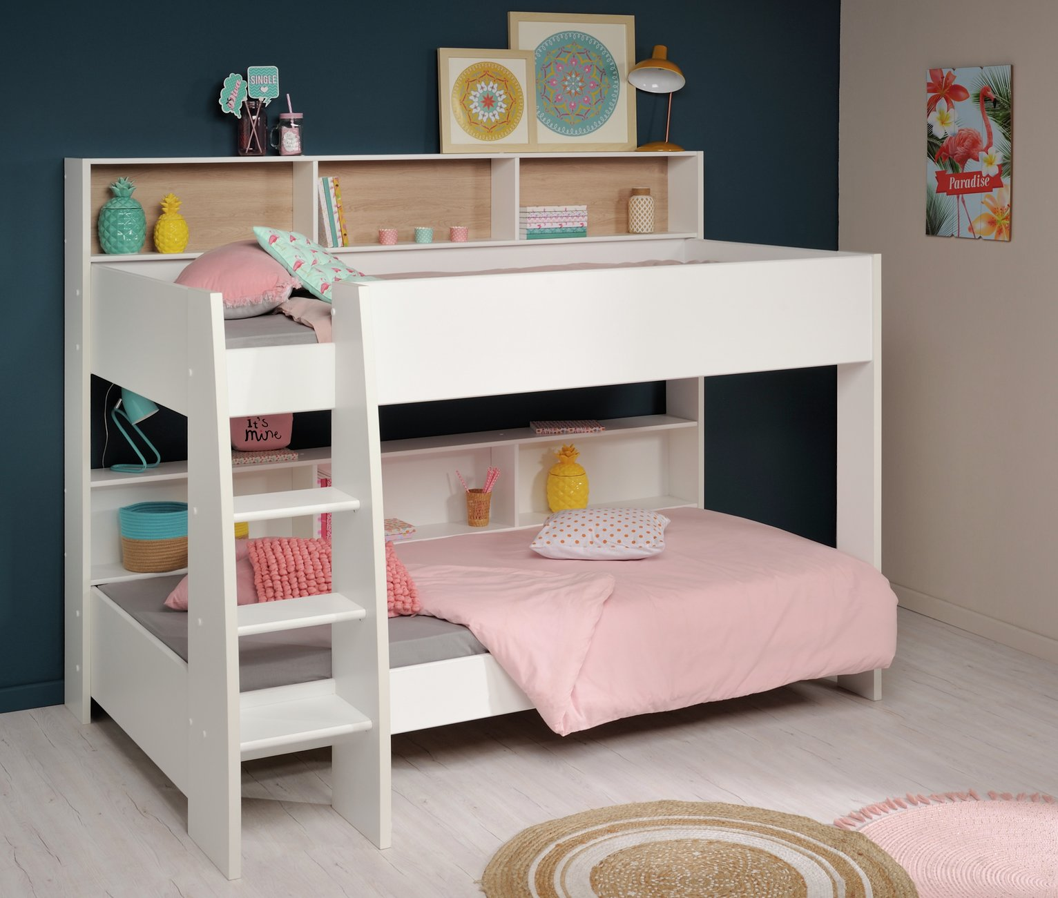 Picture of: Parisot Leo Bunk Bed White 9312878 Argos Price Tracker Pricehistory Co Uk