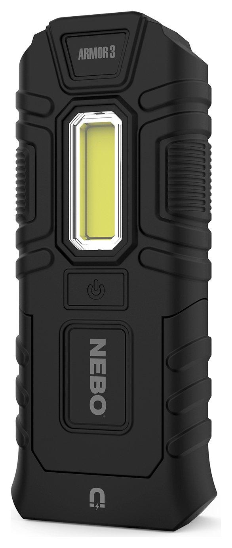Nebo Armor 3 360 Lumen LED Torch - Black