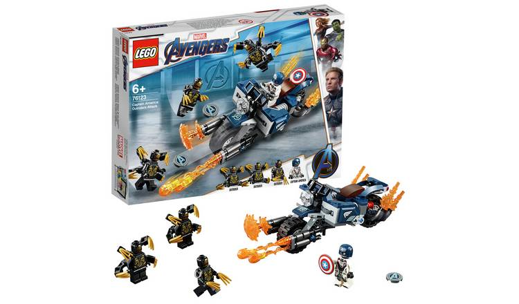 LEGO Marvel Avengers Outriders Attack Toy - 76123