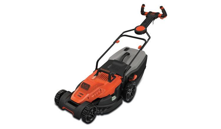 Black /& Decker 42cm Cutting Width 50L Lawnmower with EasySteer 1800W