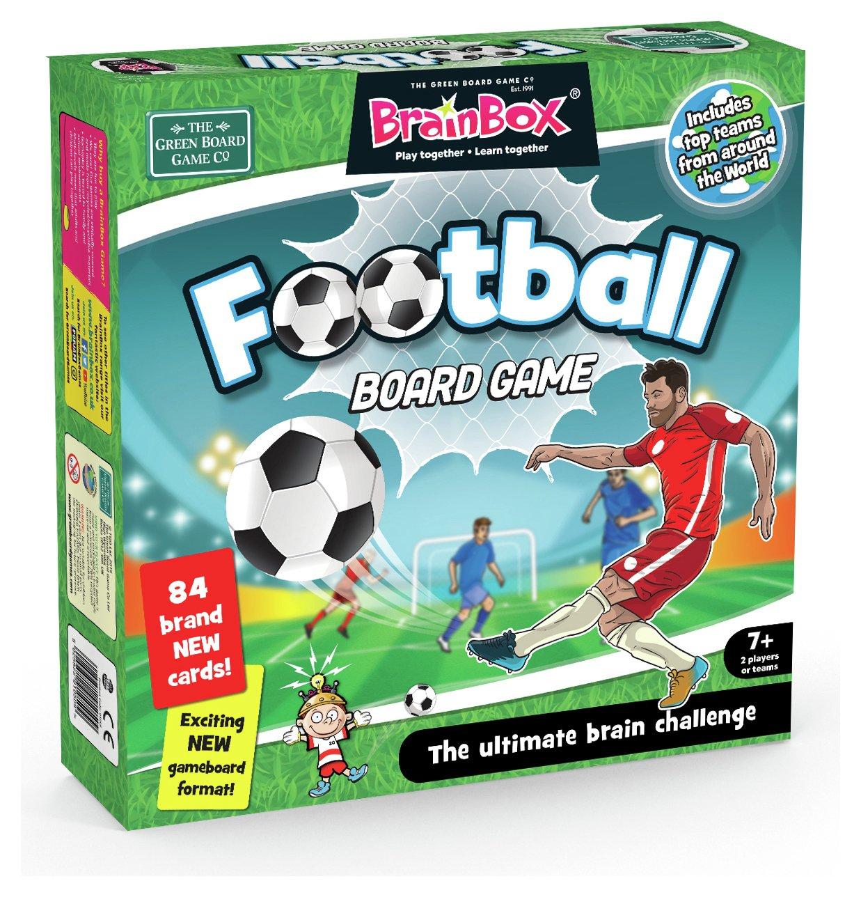 BrainBox Football Large Quiz Game