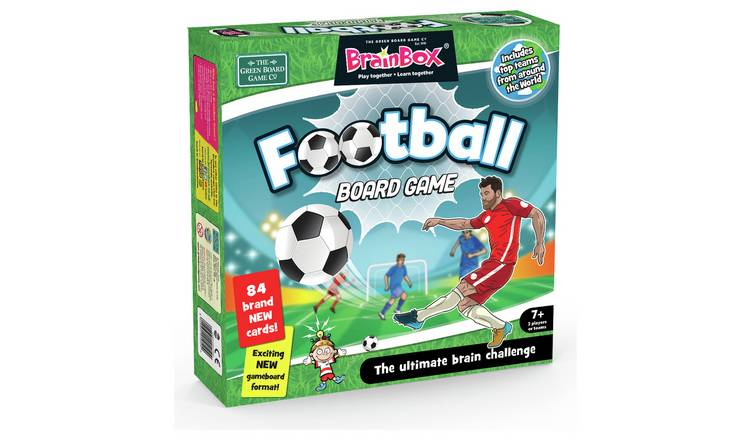 BrainBox Football Large Quiz Game
