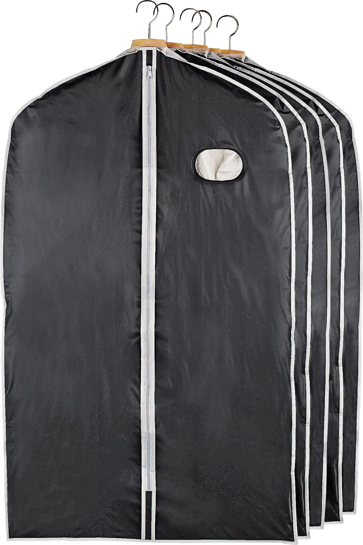 Argos Home Black Suit Storage Covers Set of 5