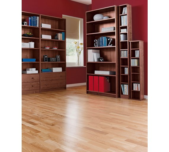 Buy home maine tall dvd and cd media storage tower walnut effect at your online Walnut effect living room furniture