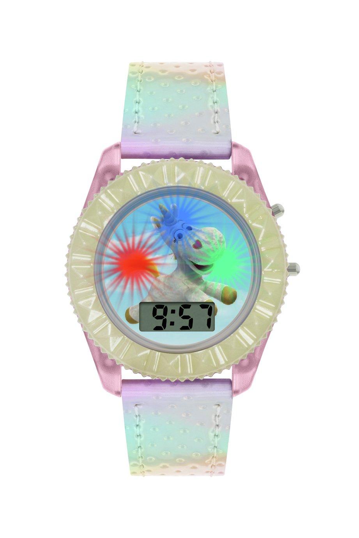 Disney Childrens Toy Story Unicorn White Plastic Strap Watch