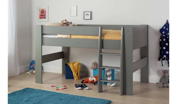 Argos Home Memphis Mid Sleeper Bed Frame - Grey