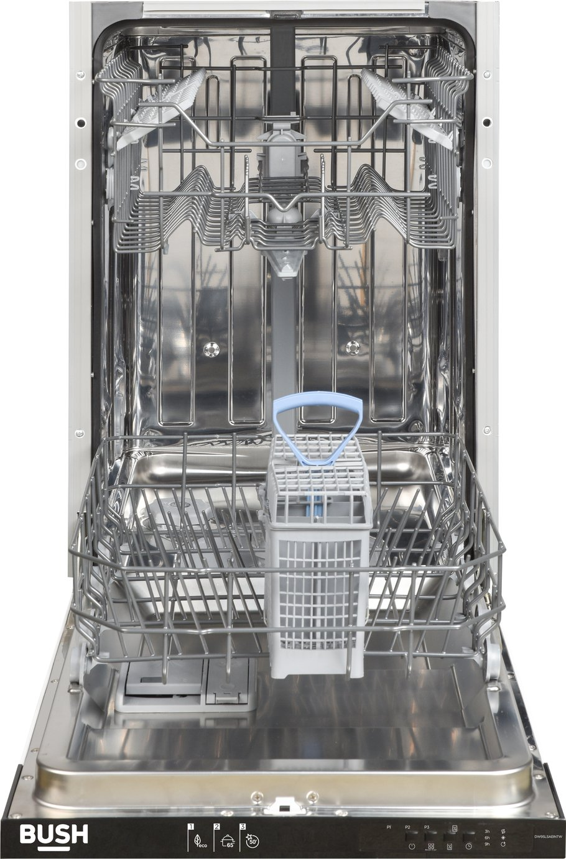 Bush DW9SLSAEINTW Slimline Dishwasher - White
