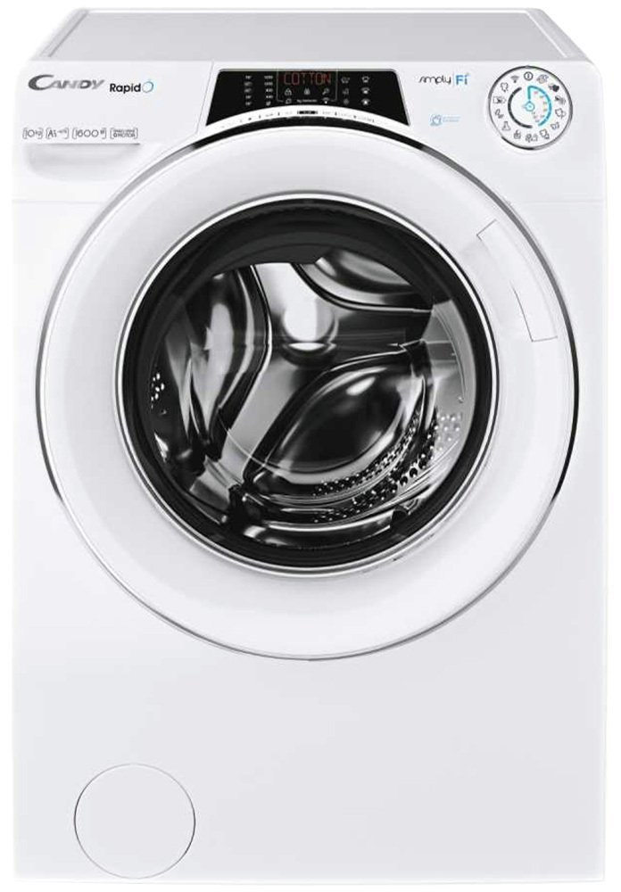 candy gv1610thw3w a 10kg 1600 spin washing machine in white