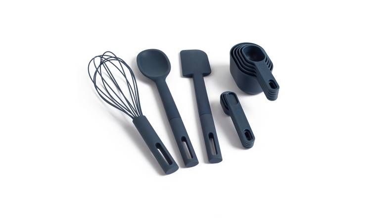 Habitat 5 Piece Baking Set - Blue