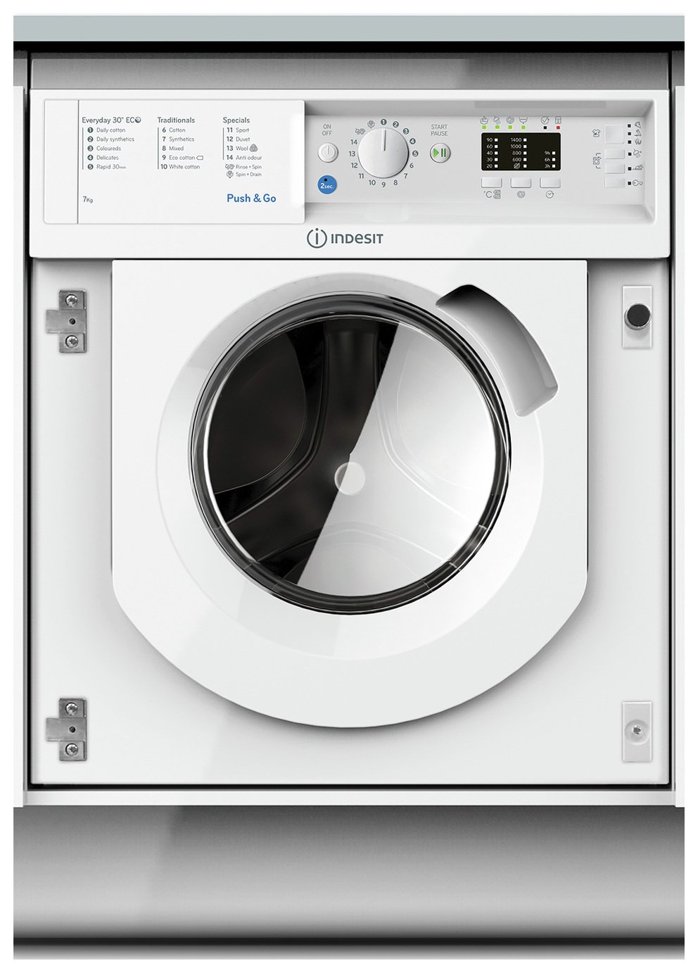 Indesit BIWMIL71452 7KG 1400 Spin Washing Machine - White