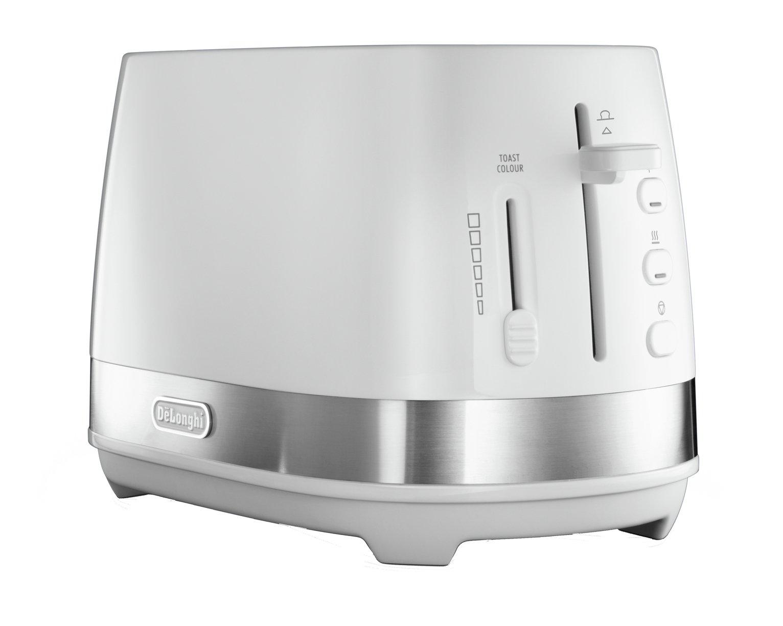 De'Longhi Active Line CTLA4003W 2 Slice Toaster - White