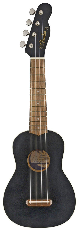 Fender Venice Soprano Size Ukulele - Black