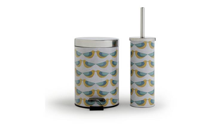 Habitat Bin and Brush Set - Kissing Birds