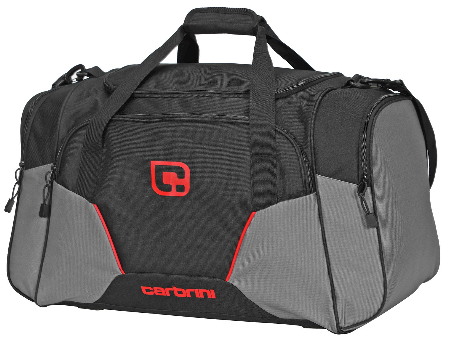 Carbrini No Doubt Large Black and Grey Holdall