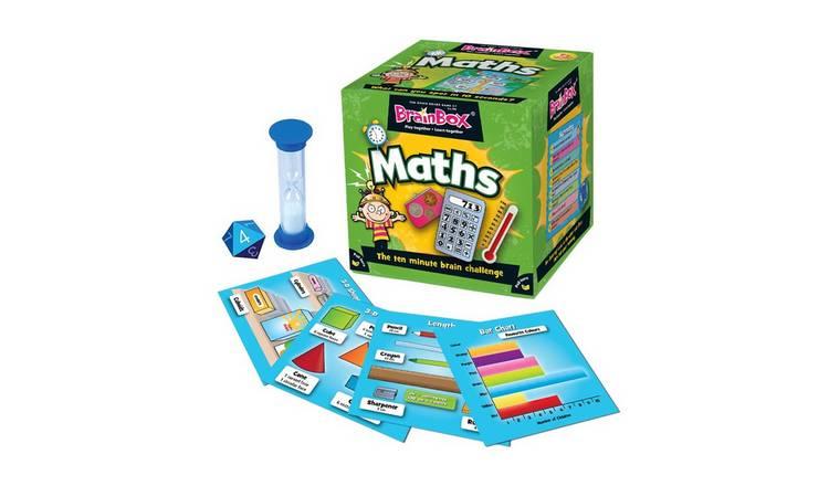BrainBox Maths Quiz Game.