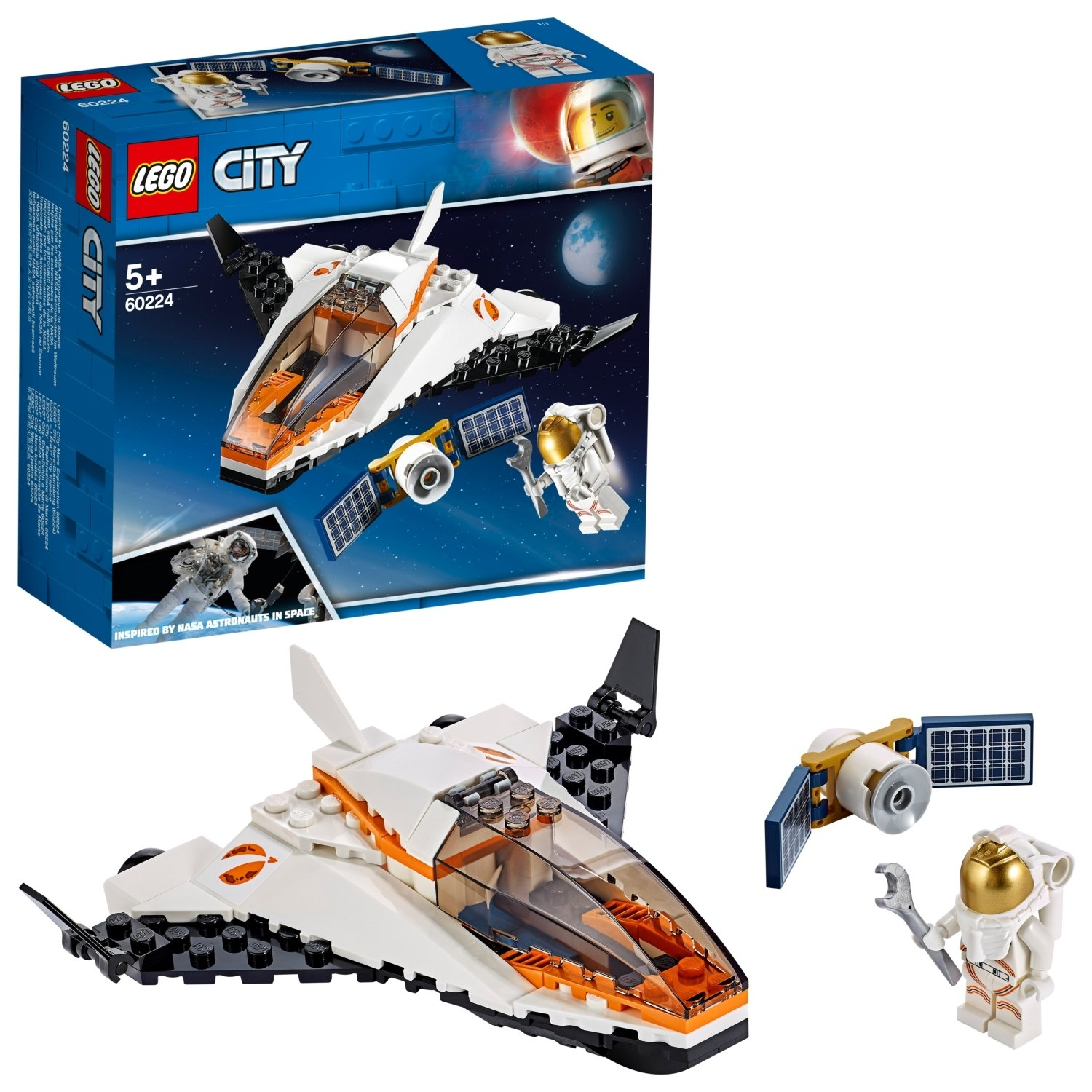 LEGO City Satallite Service Mission Playset - 60224
