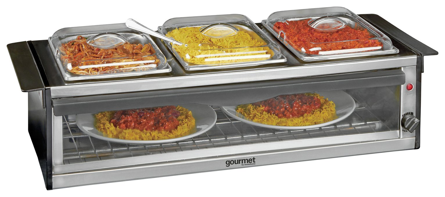 Gourmet Buffet Station and  Plate Warmer