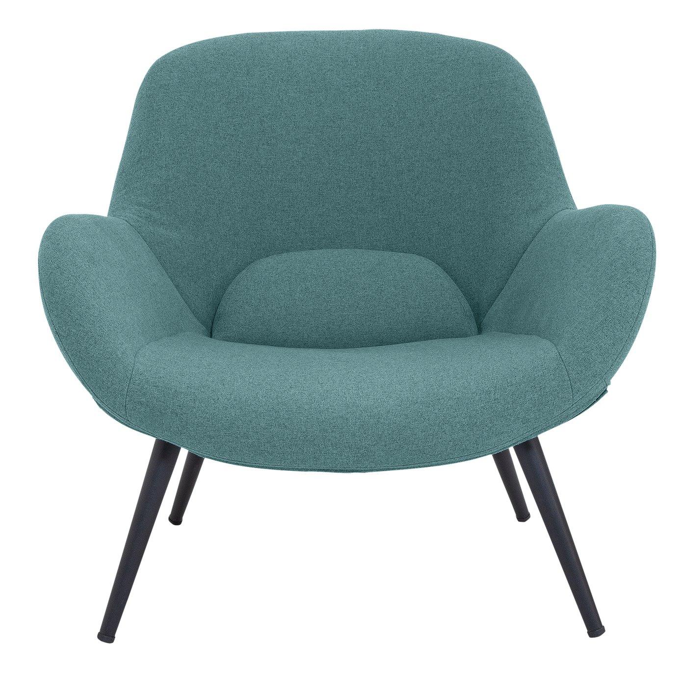Argos Home Ollie Fabric Accent Chair - Teal