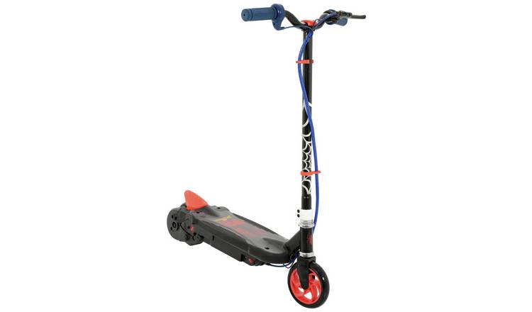 Marvel Spider-Man Black Electric Scooter