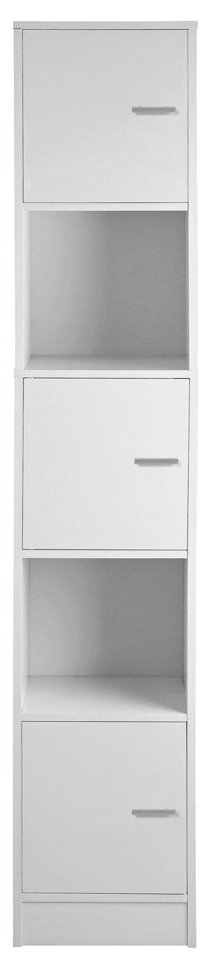 Argos Home Prime Tall Storage Unit - White
