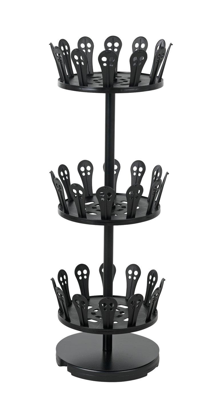 Argos Home Spiral Open Shoe rack - Black