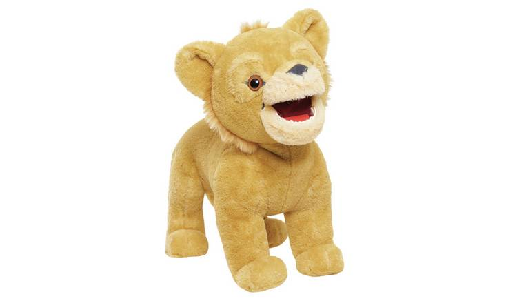 Buy Lion King Roaring Simba Soft Toy | Teddy bears and soft toys ...