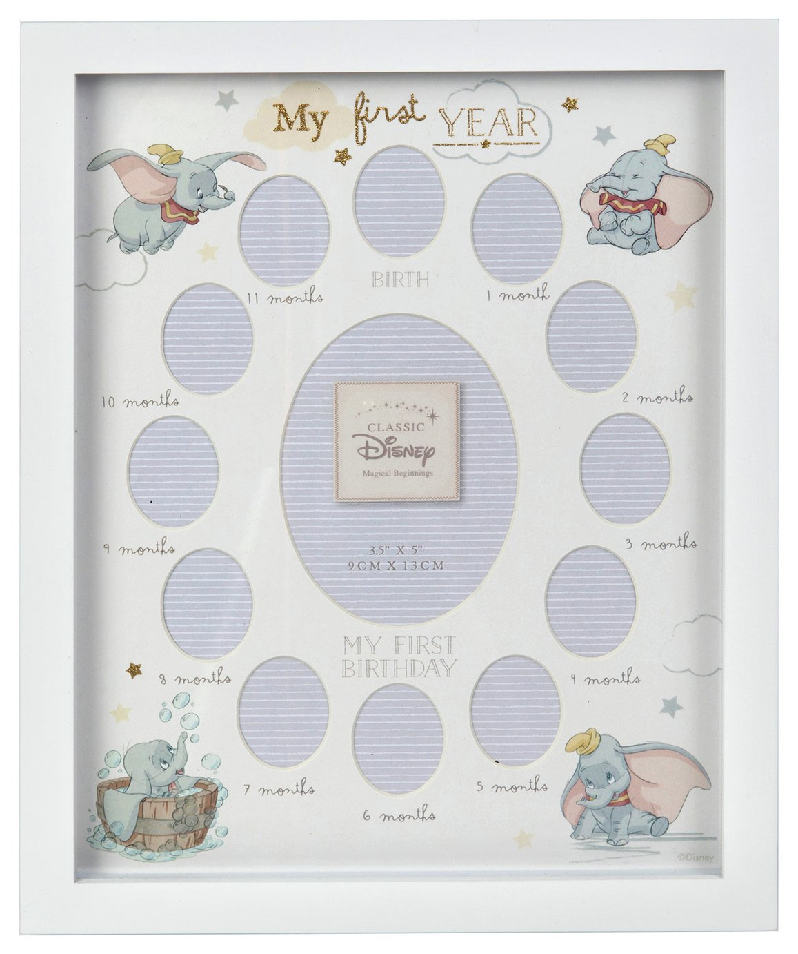 Disney Beginnings First Year Photo Frame