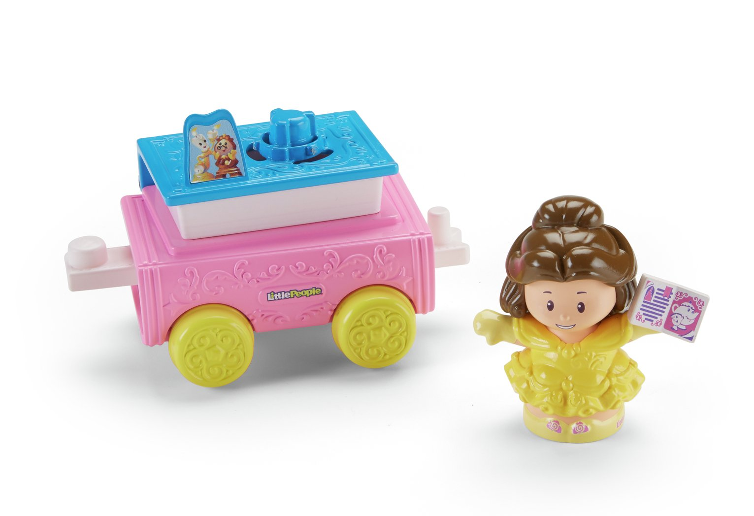 Fisher-Price World of Little People Belle and Chip Set