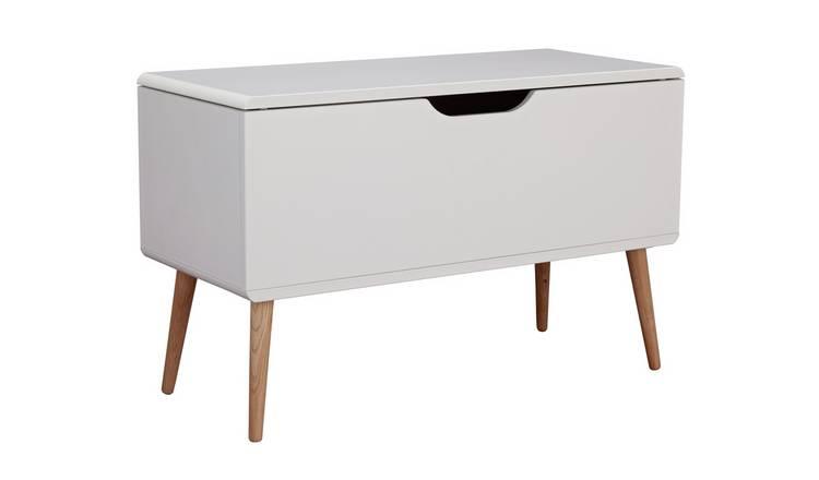 Buy Argos Home Bodie Toybox White | Toy boxes | Argos