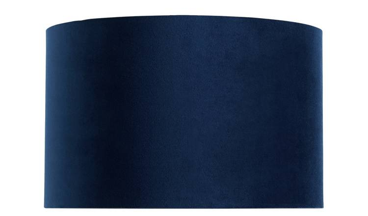Habitiat French Velvet 25cm Shade - Navy