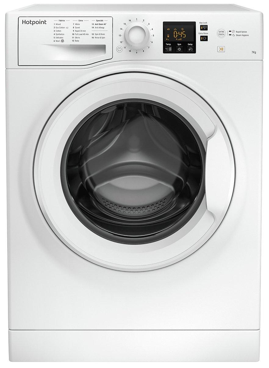 Hotpoint NSWM743UWUK 7KG 1400 Spin Washing Machine - White