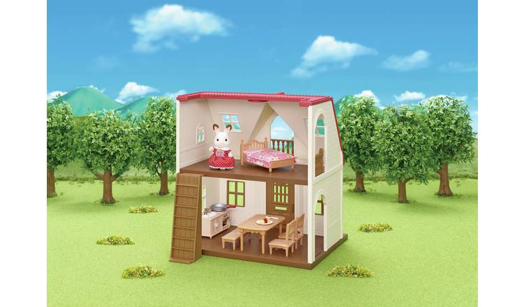 Sylvanian Families Roof Cosy Cottage Playset