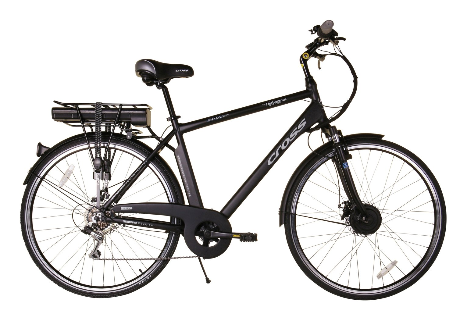 E-Plus Mayfair 27 Inch Wheel Size Mens Hybrid Electric Bike