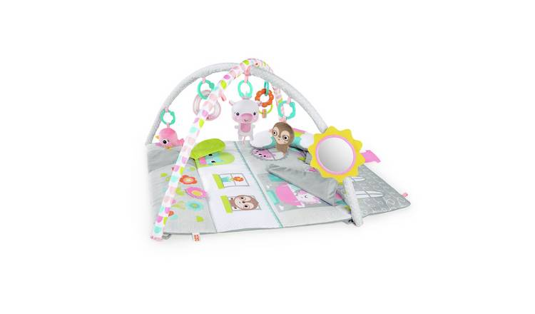 Bright Starts Floors of Fun Activity Gym & Dollhouse