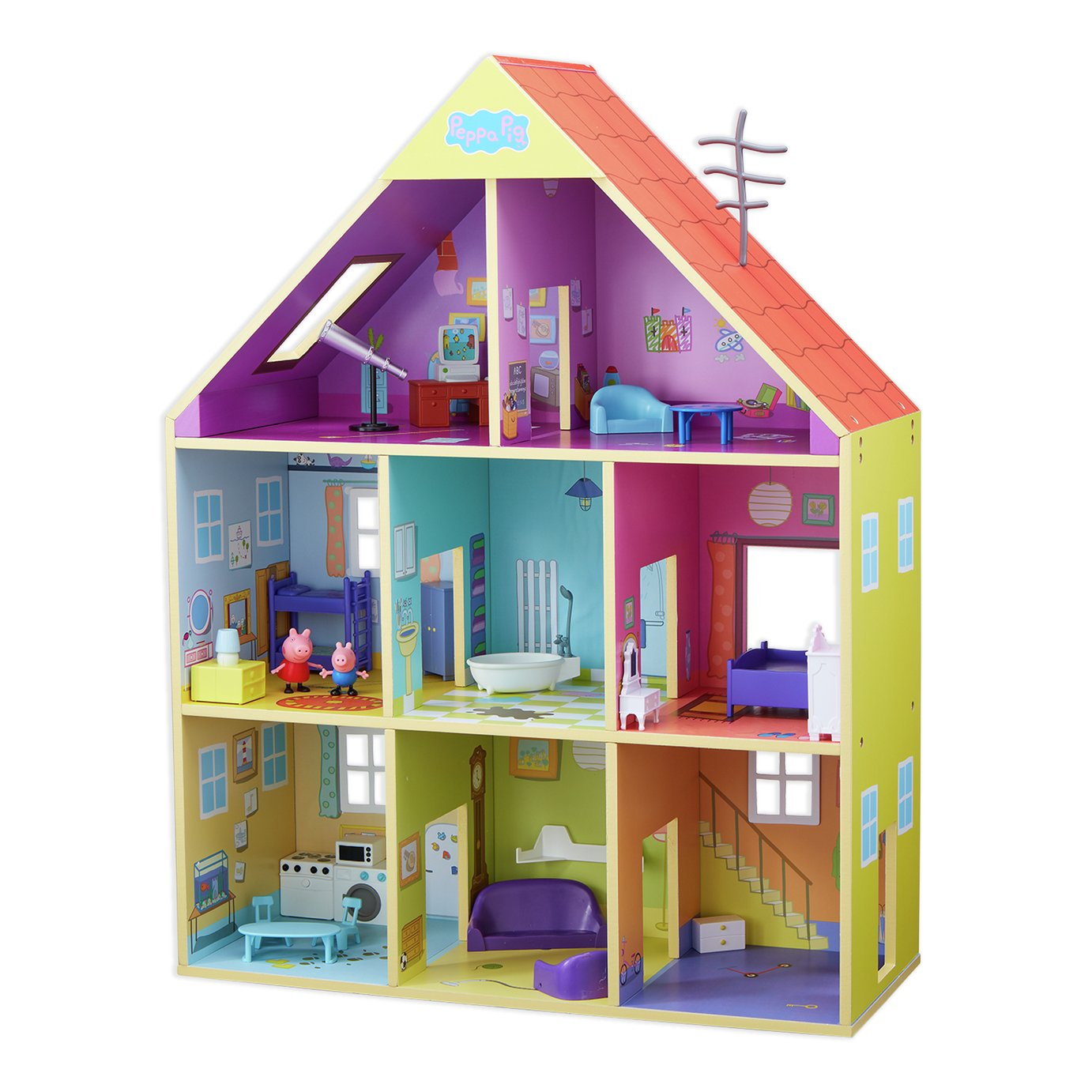 Peppa Pig Deluxe Wooden Playhouse