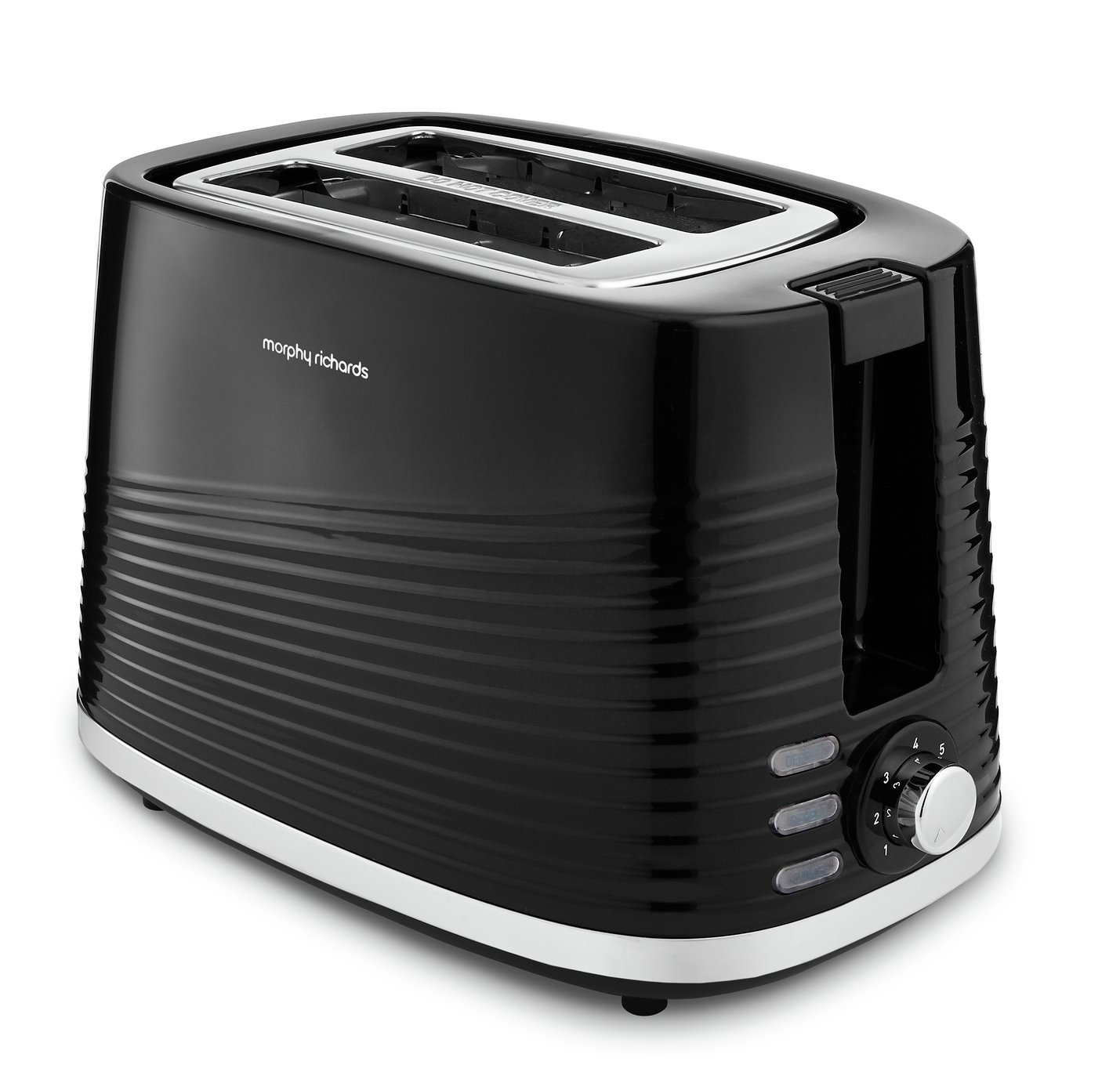 Morphy Richards 220026 Dune 2 Slice Toaster - Black