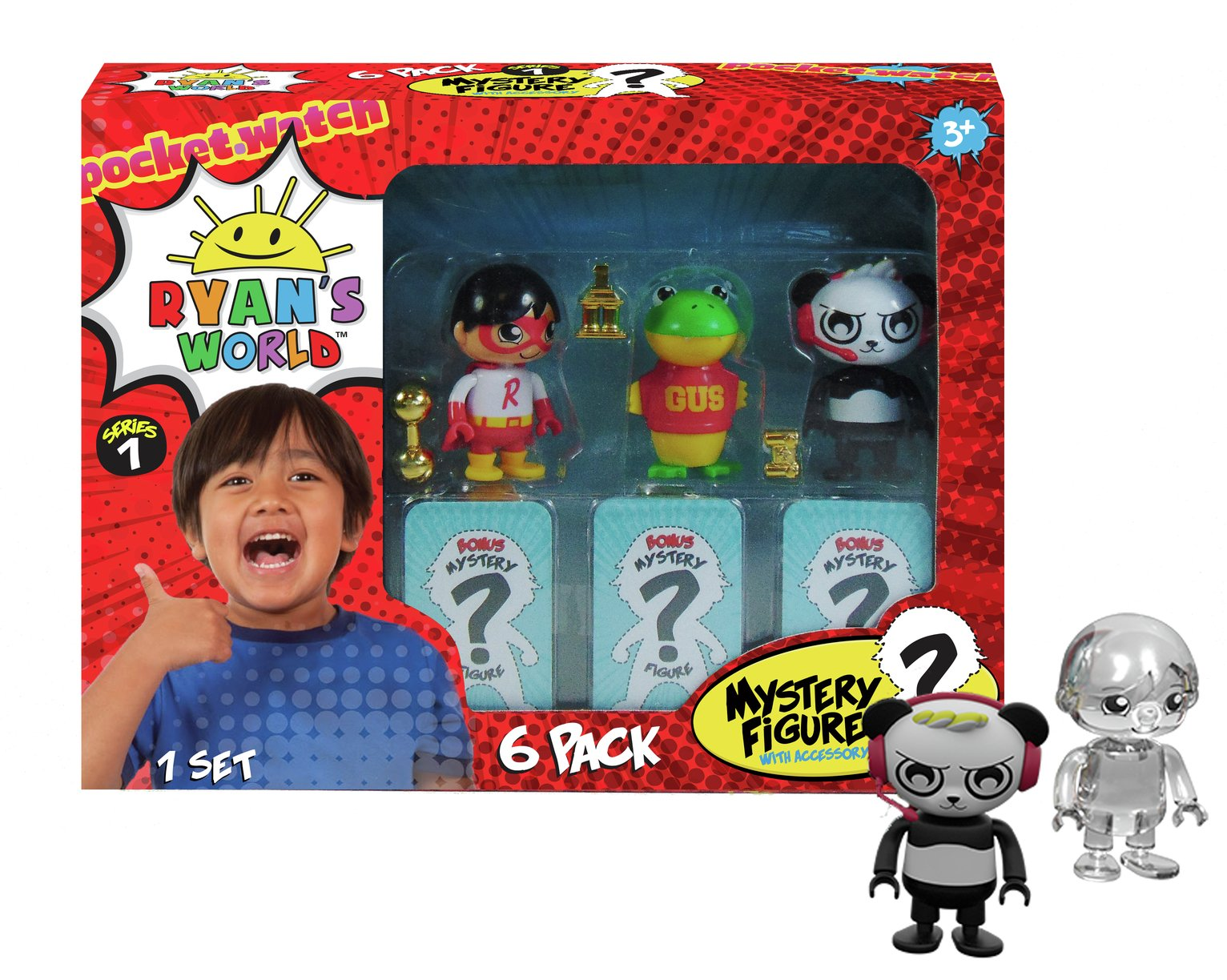 Ryans World 6 Pack Collectible Figure Set