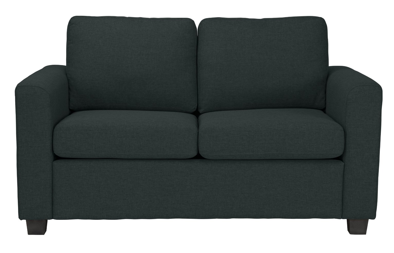 Argos Home Apartment 2 Seater Fabric Sofa Bed - Charcoal