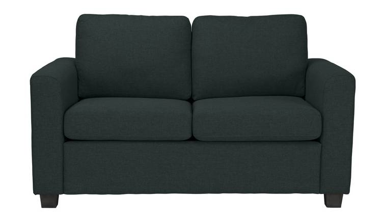 Habitat Apartment 2 Seater Fabric Sofa Bed - Charcoal