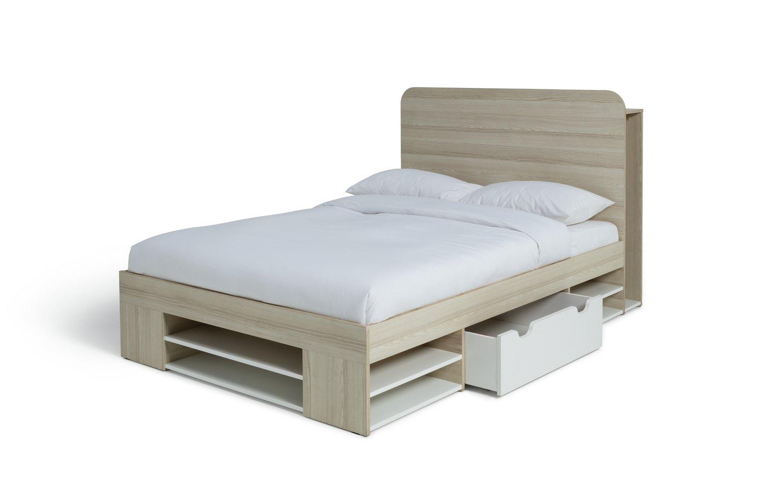 Argos Home Pico Double Bed Frame - Two Tone