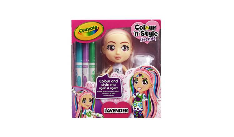 Crayola Colour 'n' Style Friends Assortment