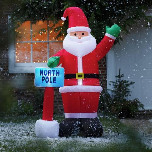 Buy Argos Home Inflatable Santa | Outdoor Christmas ...