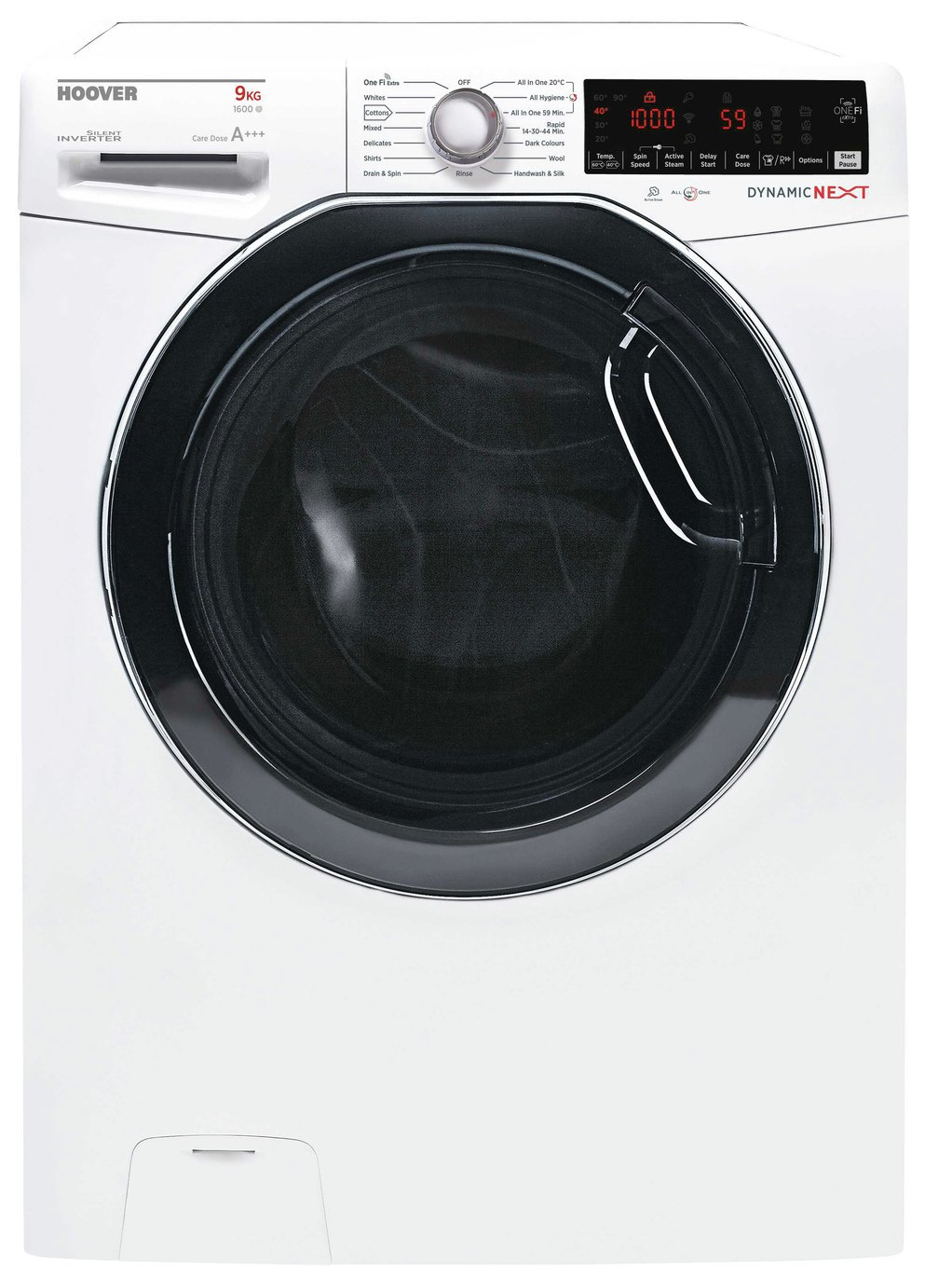 Hoover DWOAD 69HF3 9KG 1600 Spin Washing Machine - White