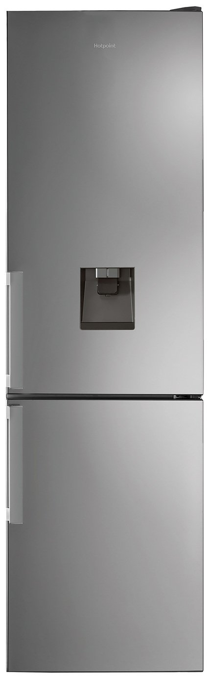 Hotpoint H7T911AMXH AQUA Frost Free Fridge Freezer - Inox Best Price, Cheapest Prices