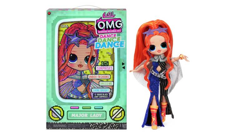LOL Surprise OMG Dance Dance Dance Major Lady Fashion Doll